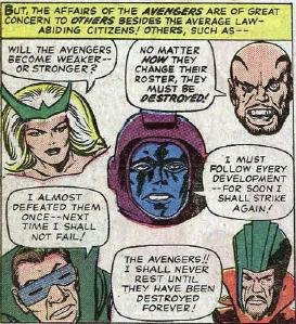 Jack Kirby's Parade of Evil Faces!!