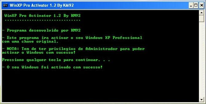 winxp pro activator 1.2 by km92
