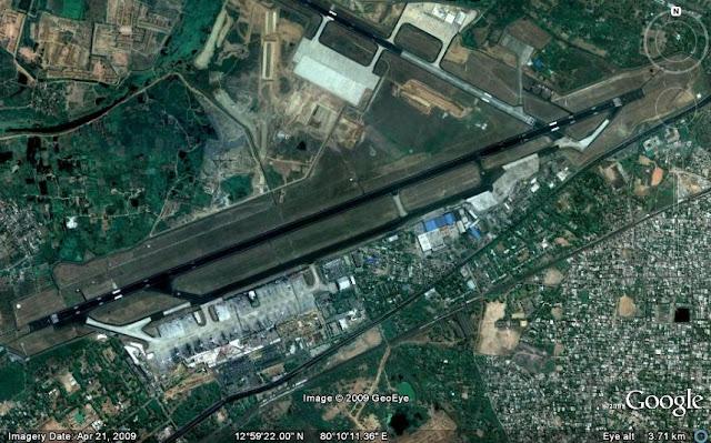 Chennai Airport Runway
