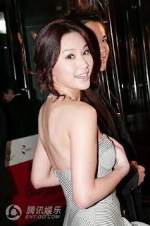 Just TVB Artist: Myolie Wu new open bridal house.