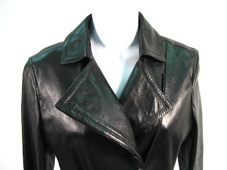 38d0e8ecf Had the coat been priced at $250, I would have been interested. Someone got  a very nice, high-end leather trench coat that will never go out of style!