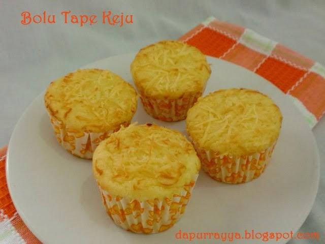 Resep Cake Tape Jadul: Dapur Rayya: Bolu Tape Keju