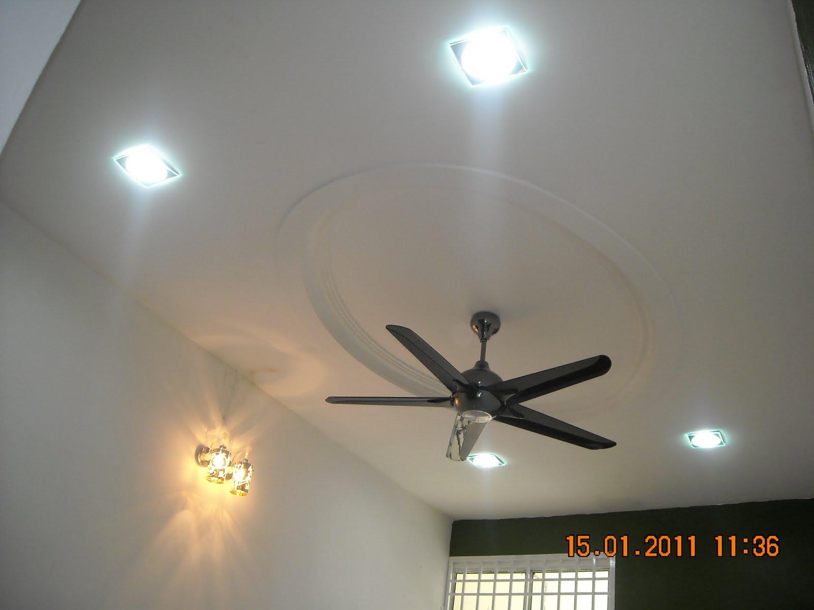 Deko Rumah Pasang Lampu Dan Kipas