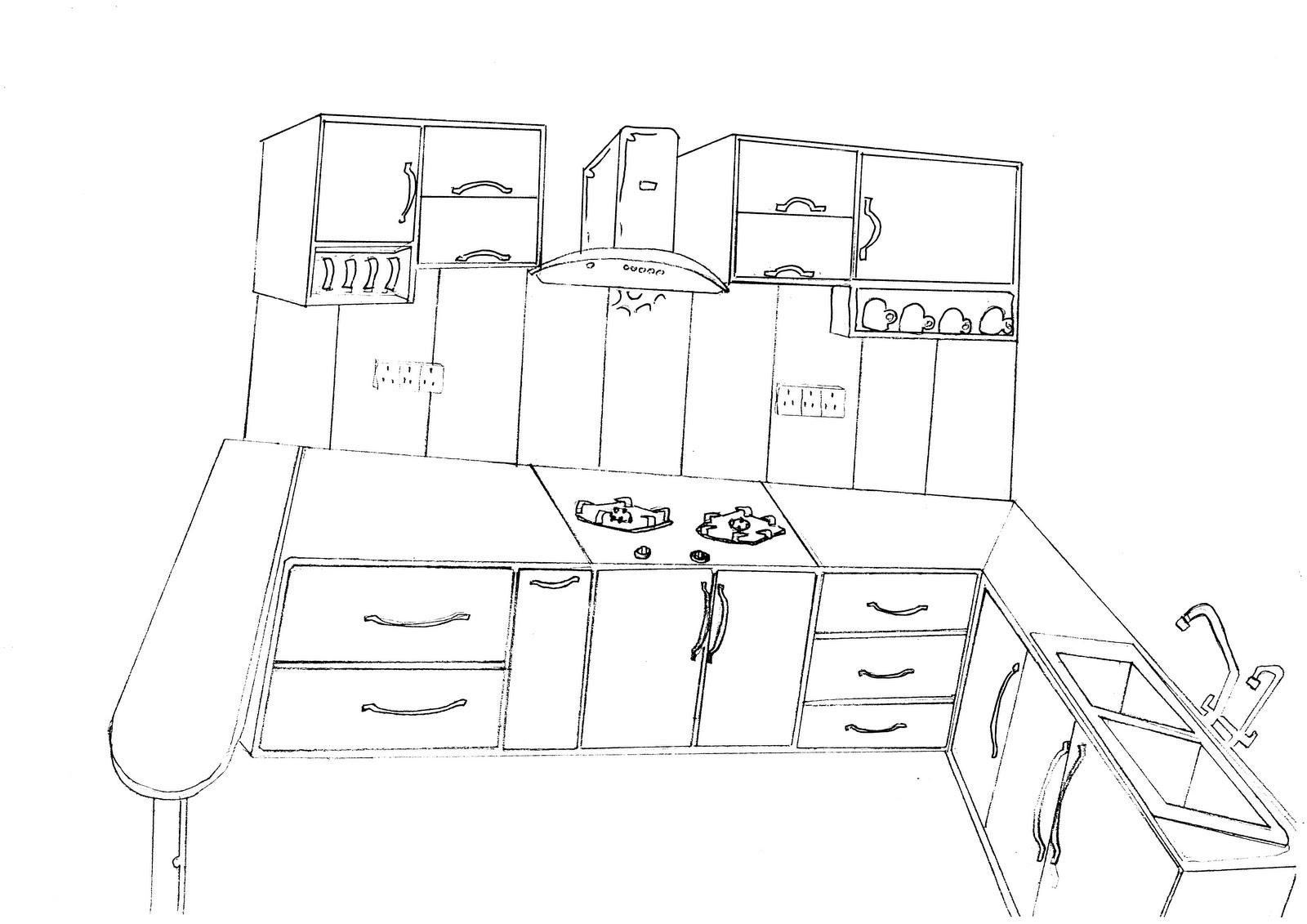Deko Rumah Kabinet Dapur
