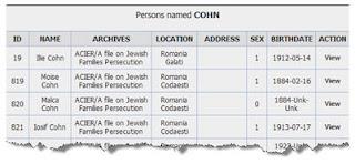 Tracing the Tribe: The Jewish Genealogy Blog: Romania: Jewish Museum