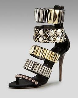 c7b4f4e23e46 Fashion Find Must Have  Giuseppe Zanotti Zip Cuffed Jewel Sandals
