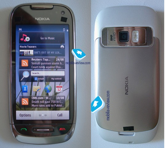Eye Candy Hardware: Nokia Symbian 3rd and C7 With AMOLED