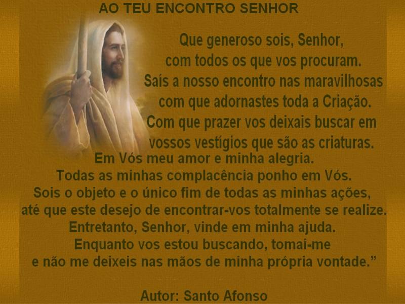 Servos De Maria * Lucia Villar: AO TEU ENCONTRO SENHOR