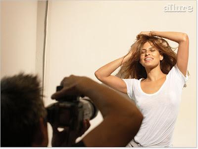 Eva Mendes Hot Magazine Scans | Eva Mendes Allure Magazine Scans