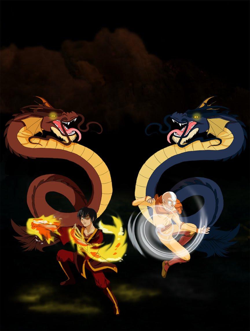 Aang and Zuko  Dragon DanceZuko And Aang Yaoi