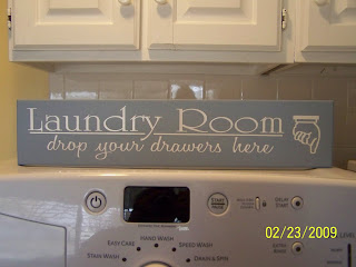 Heartfelt Wall Hangings: Laundry Room Collection