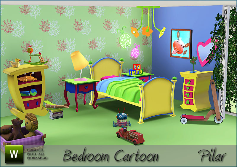 Cartoon Bedroom Related Keywords amp; Suggestions  Cartoon Bedroom Long Tai