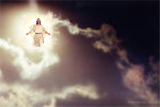 Jesus Christ coming from the lighting on second coming Spiritual Christian image free download