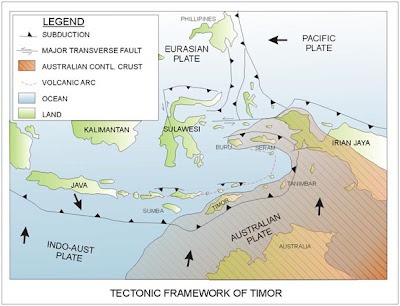 Exploration: Regional Tectonic of Timor Island, Indonesia
