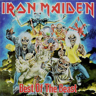 Portada Iron Maiden best of the beast