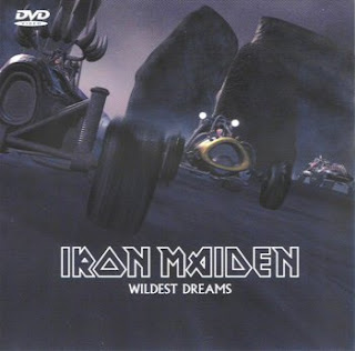 Portada Iron Maiden wildest dreams alternativa