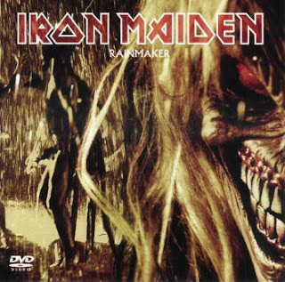 Portada Iron Maiden rainmaker