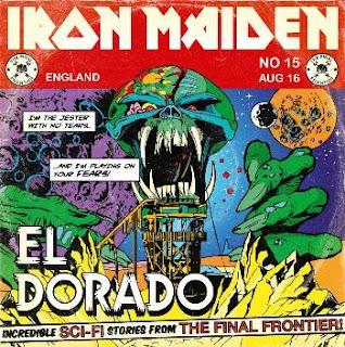 Portada Iron Maiden el dorado