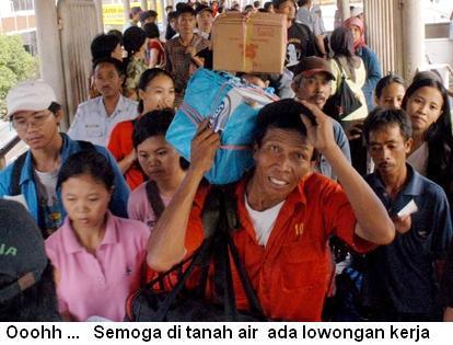 TKI yang dipulangkan dari Malaysia