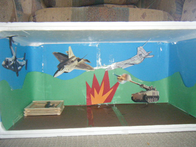 planet earth diorama projects - photo #19