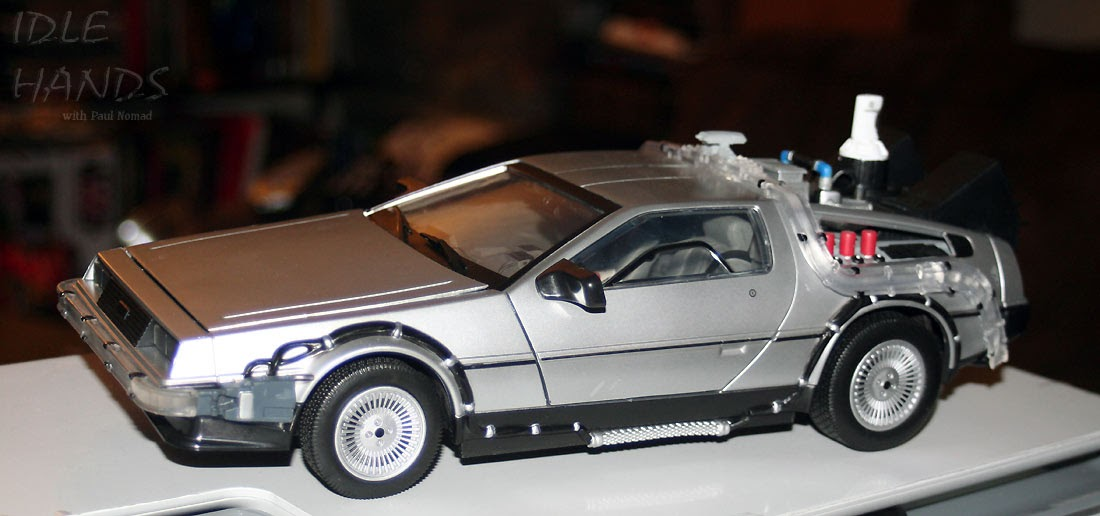 Idle Hands: Diamond Select's Back to the Future II 1/15th Scale DeLorean