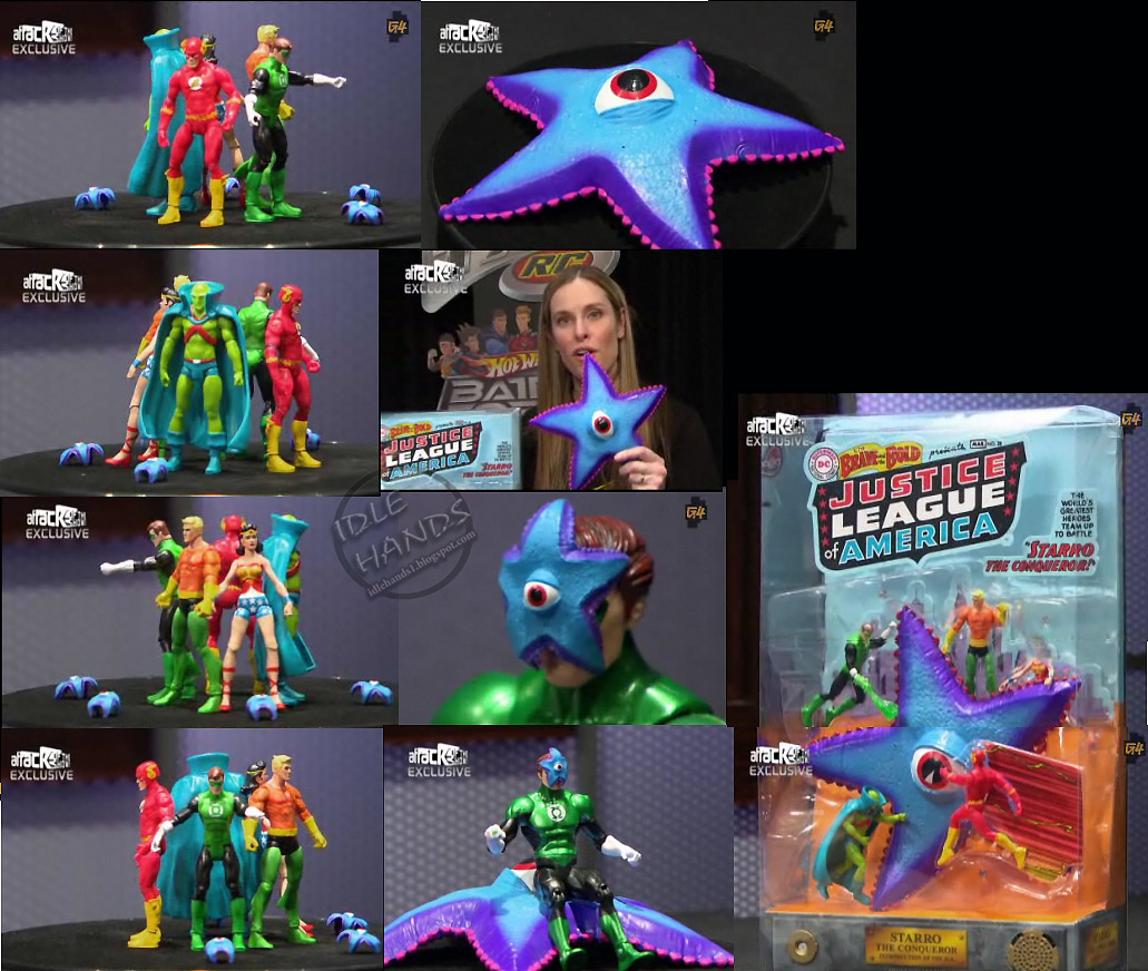 Idle Hands: SDCC Exclusives: Mattel on G4