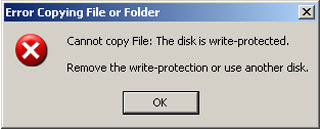 Make USB drives, external hard disk write protected, read only