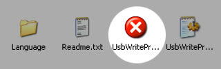 USB write protect