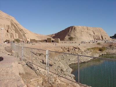 Abu Simbel : in southern nation of the Nubians