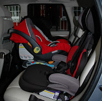 the car seat lady they said it was impossible fitting 3 car seats across the back seat. Black Bedroom Furniture Sets. Home Design Ideas