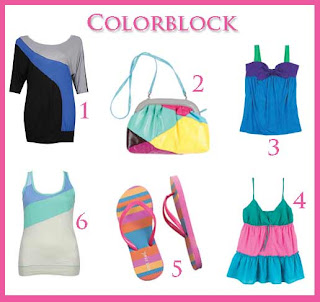 colorblock clothing