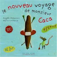 """""""Le nouveau voyage de Monsieur Caca"""" : Monsieur Caca refait sa valise 1"""