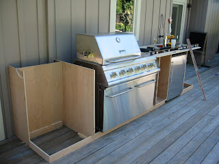 33 Outdoor Kitchen Ideas and Designs (Pictures) |Outdoor Kitchen Freestanding Grill