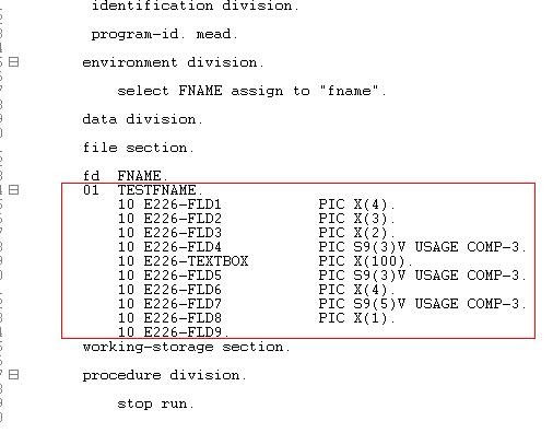 Normalizer transformation (Working with VSAM source