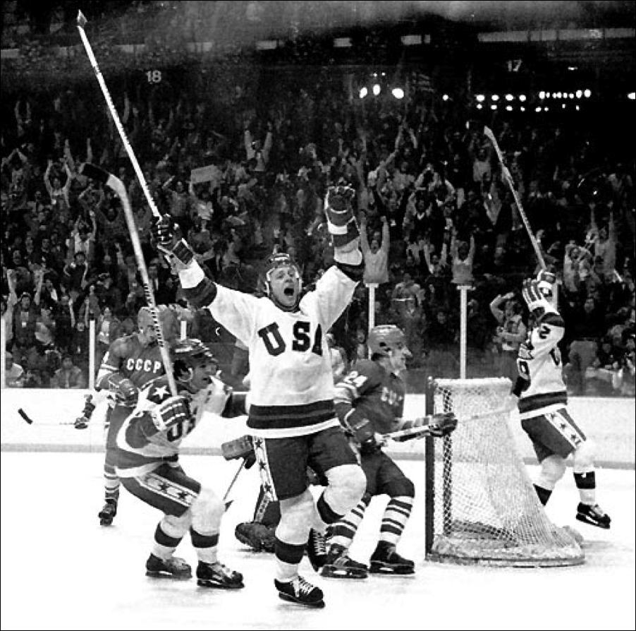 Media Arts!!?: Ruined iconic Image 4 - Miracle on ice