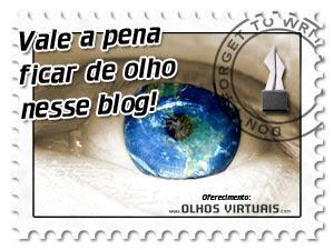 """Selo """"Vale a Pena Ficar de Olho Nesse Blog"""""""