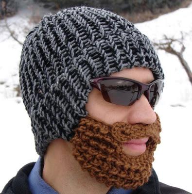 Funny Free Pics Bearded Beanie