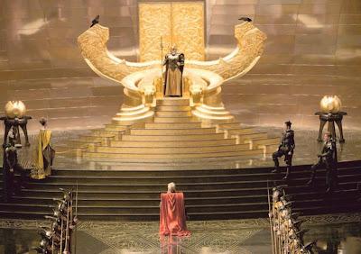 Thor La película - La corte de Asgard