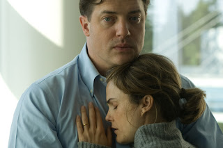 Brendan Fraser as John Crowley and Keri Russell as Aileen Crowley in Tom Vaughan drama 'Extraordinary Measures.'