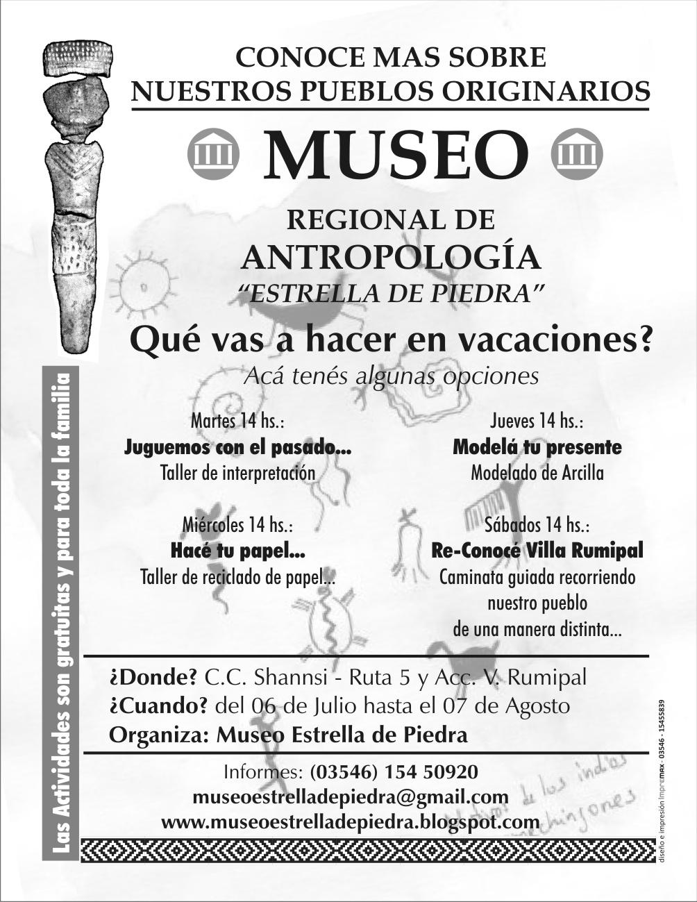 Red de museos de calamuchita que hacer en vacaciones - Que hacer en vacaciones ...