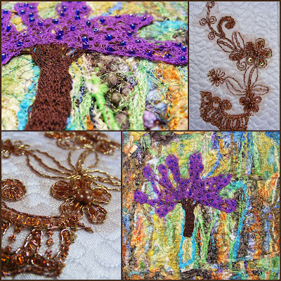 carduri textile, arta textila