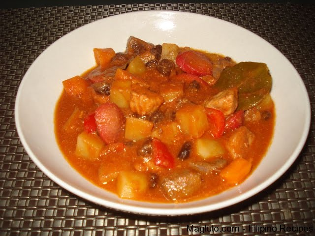 Pork Menudo Recipe ~ Pinoy Recipe