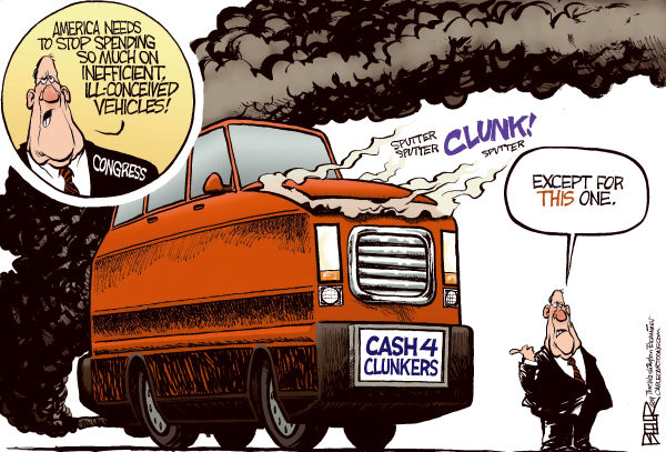 Cash For Clunkers >> Real World Libertarian Gillard Bribe Cash For Clunkers