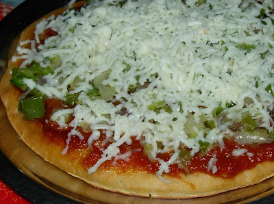 How to make veg pizza at home in oven