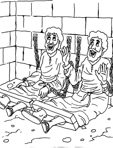 Prison Drawings Coloring Pages