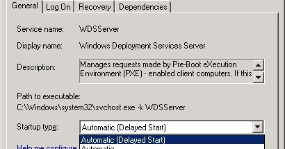 My System Center & EM+S Experience: WDS does not start