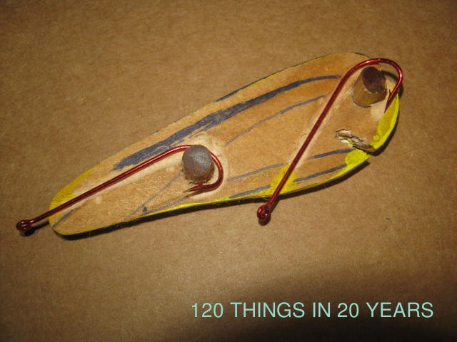 120 things in 20 years handmade fishing lures harness for Making fishing lures