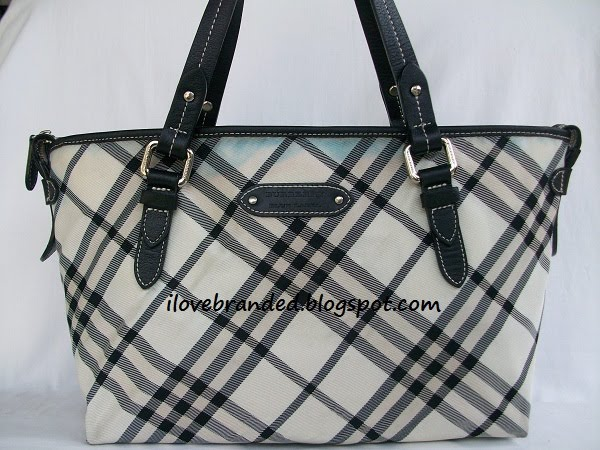 Burberry Blue Label Tote Bag Sold
