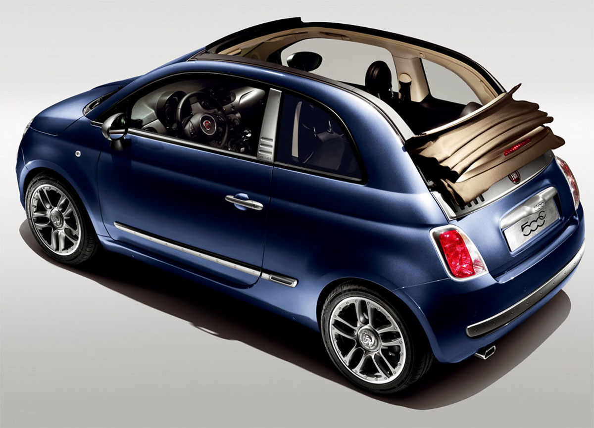 fiat 500c by diesel special edition creativity and fun cars autoblogzine. Black Bedroom Furniture Sets. Home Design Ideas