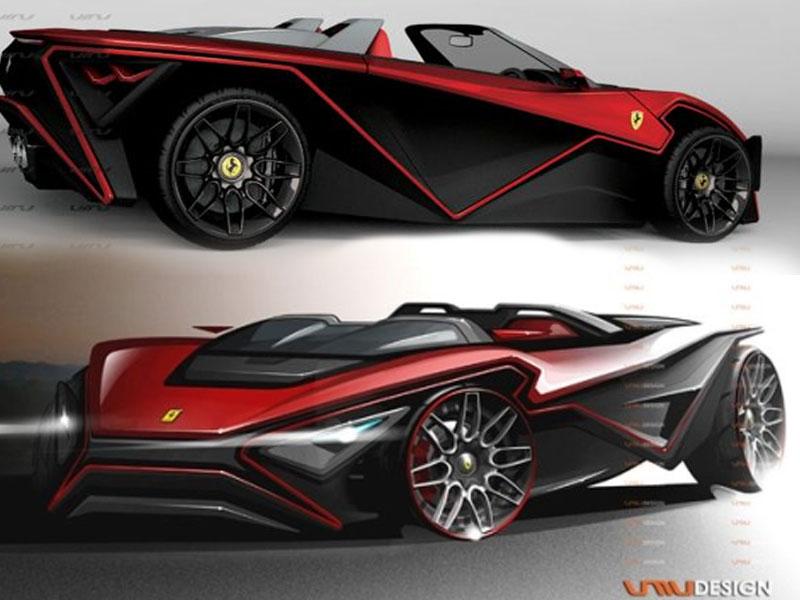 Ferrari Imola Sport Car Model And Design